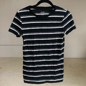Mossimo Supply Co. Tops - Mossimo Size Small Black and White striped shirt